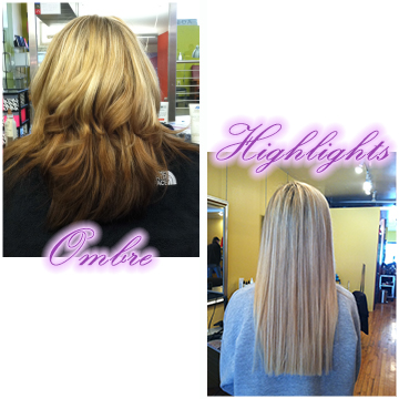 Ombre & Highlights